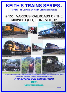 Image of Keith's Trains Series™ RR DVD #155 (1-West Productions™)