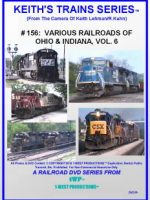 Image of Keith's Trains Series™ RR DVD #156 (1-West Productions™)