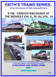 Image of Keith's Trains Series™ RR DVD #158 (1-West Productions™)