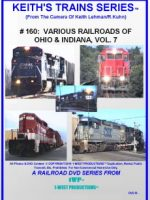 Image of Keith's Trains Series™ RR DVD #160 (1-West Productions™)