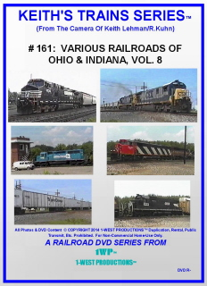 Image of Keith's Trains Series™ RR DVD #161 (1-West Productions™)