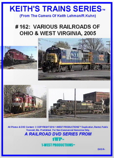 Image of Keith's Trains Series™ RR DVD #162 (1-West Productions™)