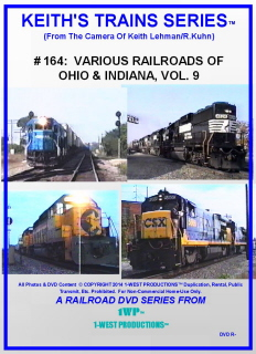 Image of Keith's Trains Series™ RR DVD #164 (1-West Productions™)