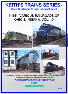 Image of Keith's Trains Series™ RR DVD #165 (1-West Productions™)