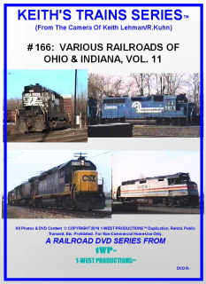 Image of Keith's Trains Series™ RR DVD #166 (1-West Productions™)