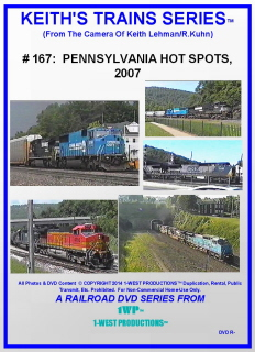 Image of Keith's Trains Series™ RR DVD #167 (1-West Productions™)