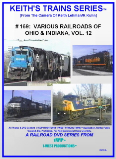 Image of Keith's Trains Series™ RR DVD #169 (1-West Productions™)