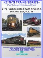 Image of Keith's Trains Series™ RR DVD #171 (1-West Productions™)