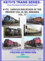 Image of Keith's Trains Series™ RR DVD #172 (1-West Productions™)