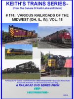Image of Keith's Trains Series™ RR DVD #174 (1-West Productions™)