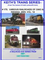 Image of Keith's Trains Series™ RR DVD #175 (1-West Productions™)