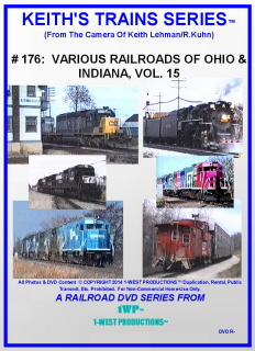 Image of Keith's Trains Series™ RR DVD #176 (1-West Productions™)