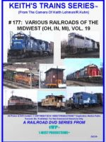 Image of Keith's Trains Series™ RR DVD #177 (1-West Productions™)