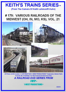 Image of Keith's Trains Series™ RR DVD #179 (1-West Productions™)