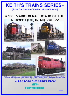 Image of Keith's Trains Series™ RR DVD #180 (1-West Productions™)