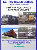 Image of Keith's Trains Series™ RR DVD #183 (1-West Productions™)