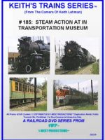 Image of Keith's Trains Series™ RR DVD #185 (1-West Productions™)
