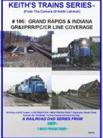 Image of Keith's Trains Series™ RR DVD #186 (1-West Productions™)