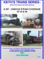 Image of Keith's Trains Series™ RR DVD #187 (1-West Productions™)