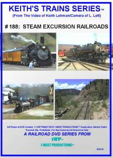 Image of Keith's Trains Series™ RR DVD #188 (1-West Productions™)