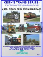 Image of Keith's Trains Series™ RR DVD #189 (1-West Productions™)