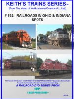 Image of Keith's Trains Series™ RR DVD #192 (1-West Productions™)