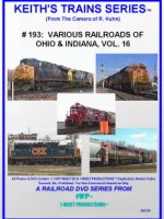 Image of Keith's Trains Series™ RR DVD #193 (1-West Productions™)