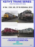 Image of Keith's Trains Series™ RR DVD #194 (1-West Productions™)