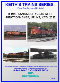 Image of Keith's Trains Series™ RR DVD #195 (1-West Productions™)