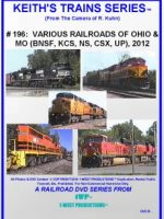 Image of Keith's Trains Series™ RR DVD #196 (1-West Productions™)