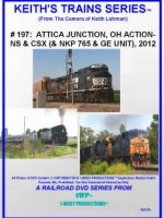 Image of Keith's Trains Series™ RR DVD #197 (1-West Productions™)