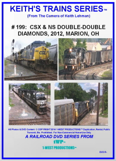 Image of Keith's Trains Series™ RR DVD #199 (1-West Productions™)