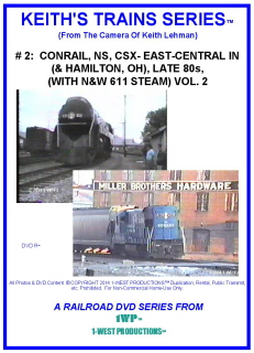 Image of Keith's Trains Series™ RR DVD #2 (1-West Productions™)