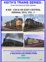 Image of Keith's Trains Series™ RR DVD #200 (1-West Productions™)
