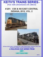 Image of Keith's Trains Series™ RR DVD #201 (1-West Productions™)