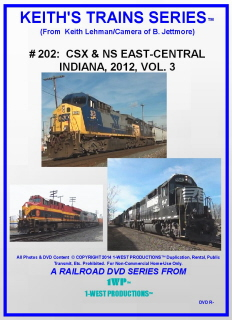 Image of Keith's Trains Series™ RR DVD #202 (1-West Productions™)