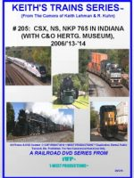 Image of Keith's Trains Series™ RR DVD #205 (1-West Productions™)