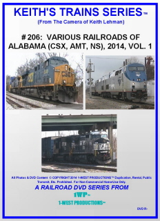 Image of Keith's Trains Series™ RR DVD #206 (1-West Productions™)
