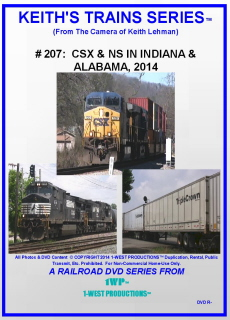 Image of Keith's Trains Series™ RR DVD #207 (1-West Productions™)