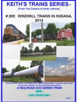 Image of Keith's Trains Series™ RR DVD #208 (1-West Productions™)