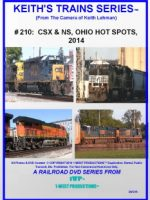 Image of Keith's Trains Series™ #210 RR DVD (1-West Productions™)