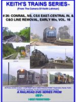 Image of Keith's Trains Series™ RR DVD #26 (1-West Productions™)