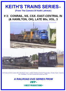 Image of Keith's Trains Series™ RR DVD #3 (1-West Productions™)