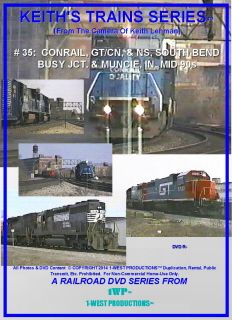 Image of Keith's Trains Series™ RR DVD #35 (1-West Productions™)