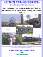 Image of Keith's Trains Series™ RR DVD #4 (1-West Productions™)