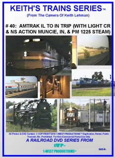 Image of Keith's Trains Series™ RR DVD #40 (1-West Productions™)
