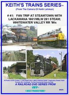 Image of Keith's Trains Series™ RR DVD #41 (1-West Productions™)