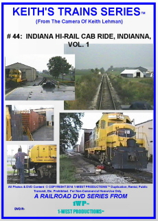 Image of Keith's Trains Series™ RR DVD #44 (1-West Productions™)