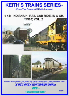 Image of Keith's Trains Series™ RR DVD #45 (1-West Productions™)