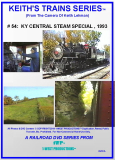 Image of Keith's Trains Series™ RR DVD #54 (1-West Productions™)